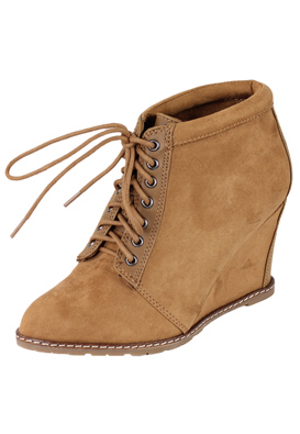 BOTINE PULL AND BEAR BASIC BROWN