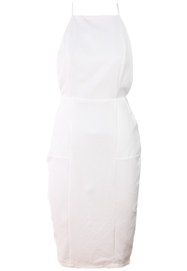 ROCHIE MISSGUIDED SHINY WHITE