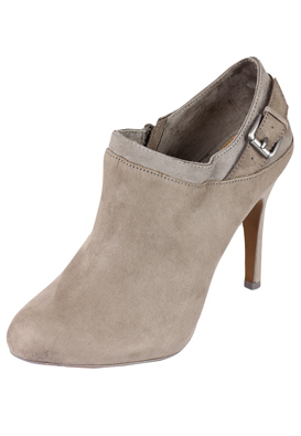 BOTINE PULL AND BEAR GIRLY GREY