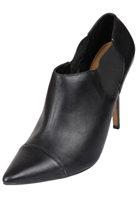 BOTINE PULL AND BEAR BADDO BLACK