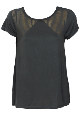 TRICOU ZARA LATE DARK GREY
