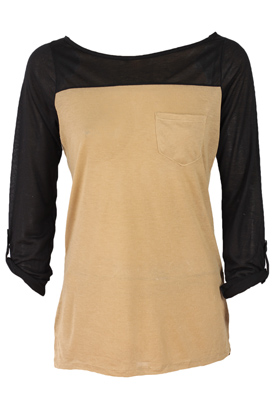 BLUZA ATMOSPHERE GIRLY BROWN