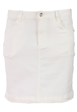 FUSTA MISSGUIDED CARROS WHITE