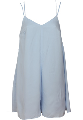 SALOPETA BERSHKA OPHTA BLUE