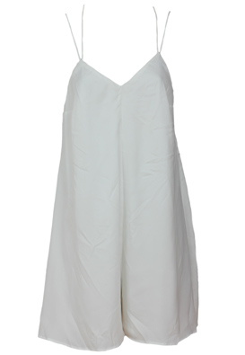 SALOPETA BERSHKA GATLES WHITE