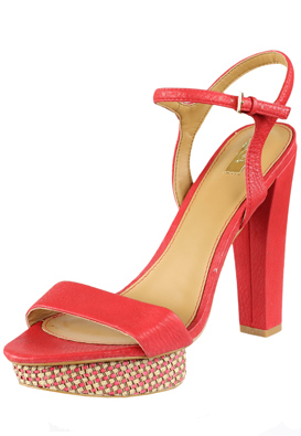 SANDALE STRADIVARIUS OUTY RED