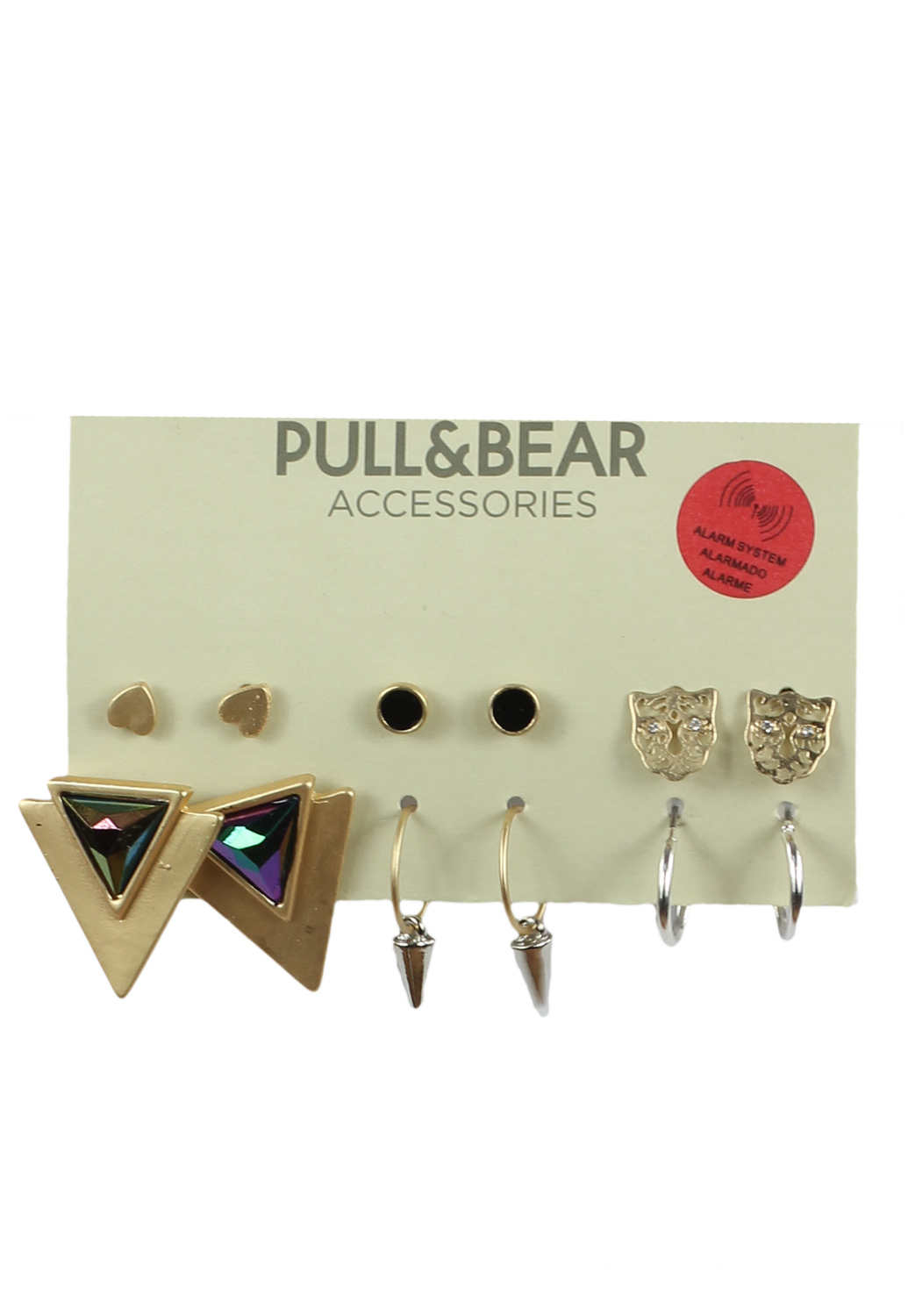 Cercei Pull and Bear Collection Golden