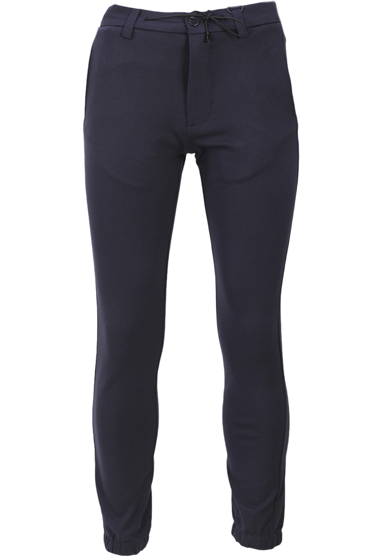 Pantaloni De Stofa Zara Flies Dark Blue