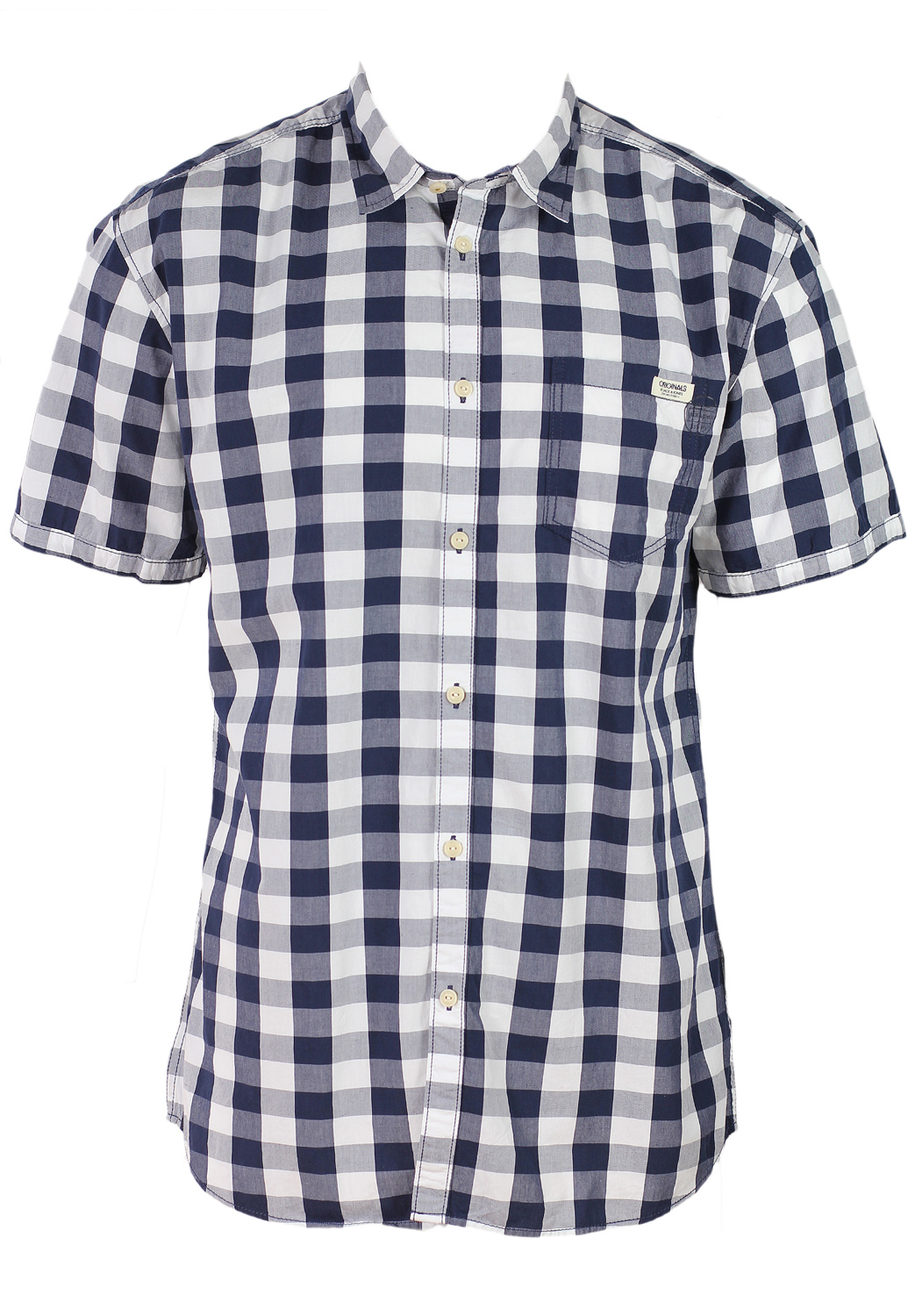 Camasa Jack And Jones Ulius White And Blue