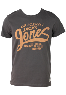 TRICOU JACK AND JONES CLASSY DARK GREY