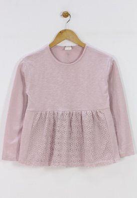 BLUZA ZARA KOLE LIGHT PINK