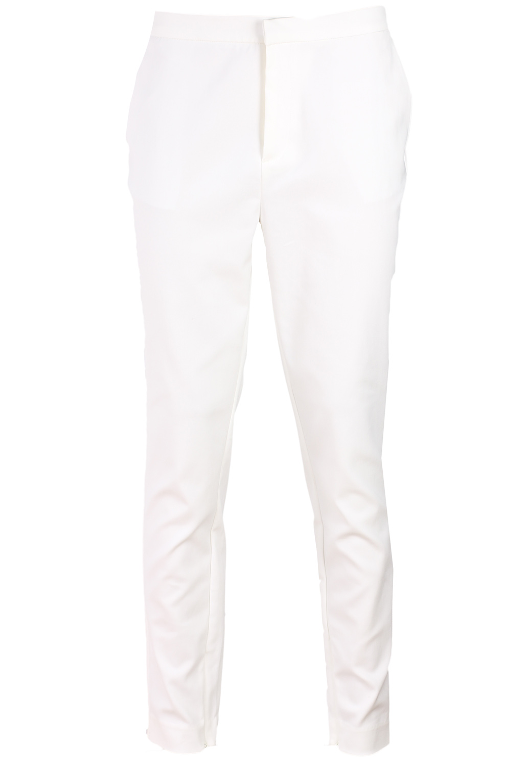 Pantaloni Selected Flies White