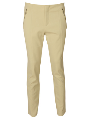 PANTALONI DE STOFA ZARA FLIES LIGHT BEIGE