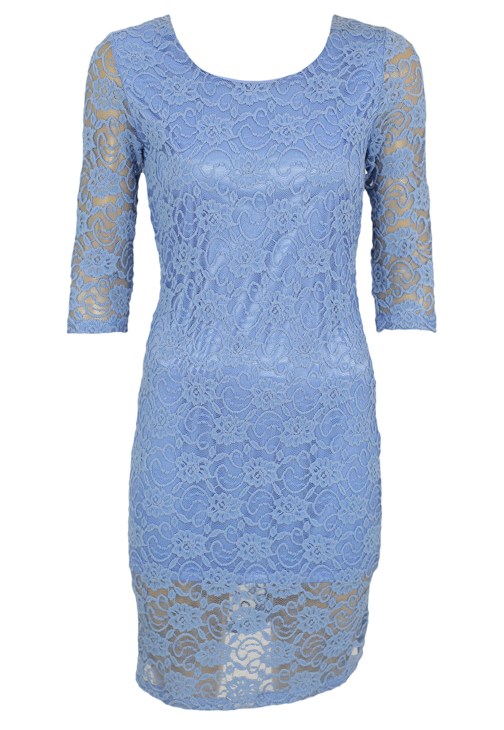 Rochie Alice and You Tela Light Blue