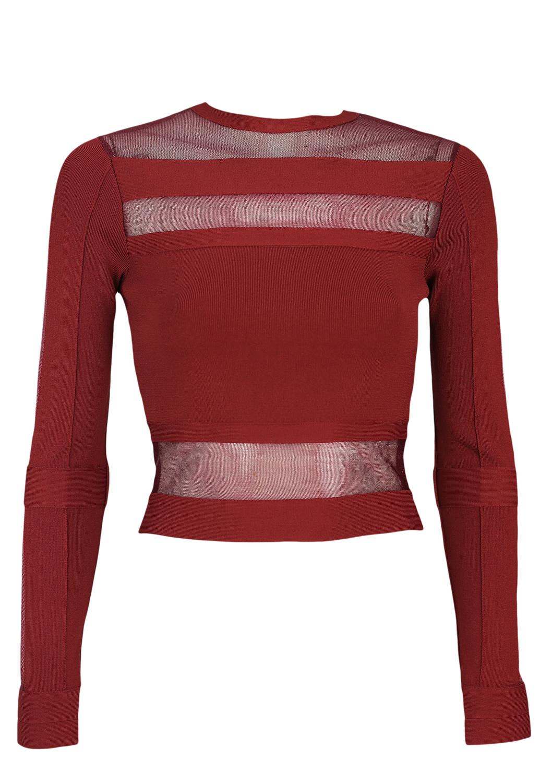 Bluza Glamorous Nighty Dark Red