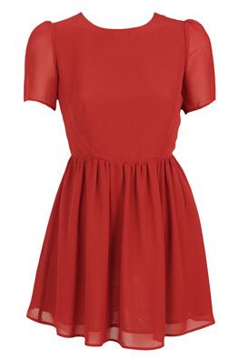 ROCHIE GLAMOROUS SHINE RED