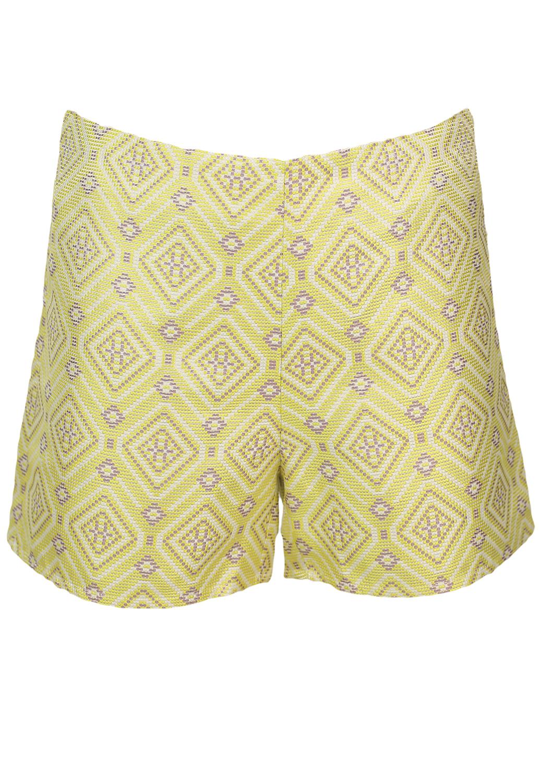 Pantaloni scurti Glamorous Misha Yellow