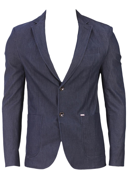 Sacou Zara Bold Dark Blue