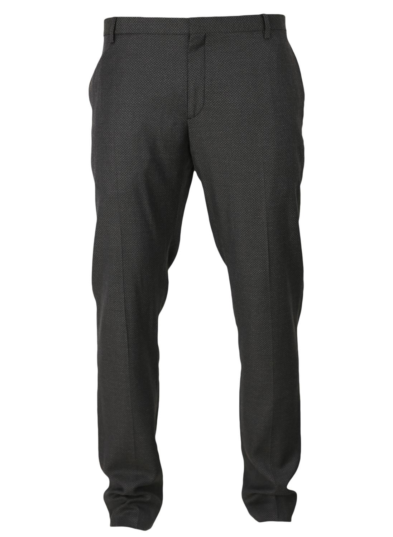 Pantaloni De Stofa Zara Jericho Dark Grey