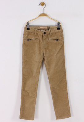 PANTALONI ZARA ICER LIGHT BROWN