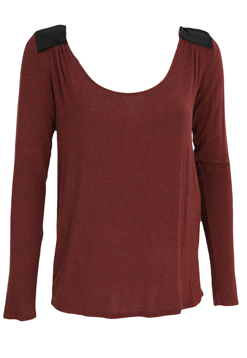 Bluza Naf Naf Blair Dark Red