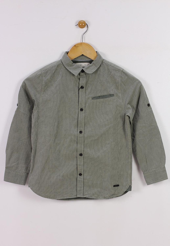 Camasa Zara Basic Green