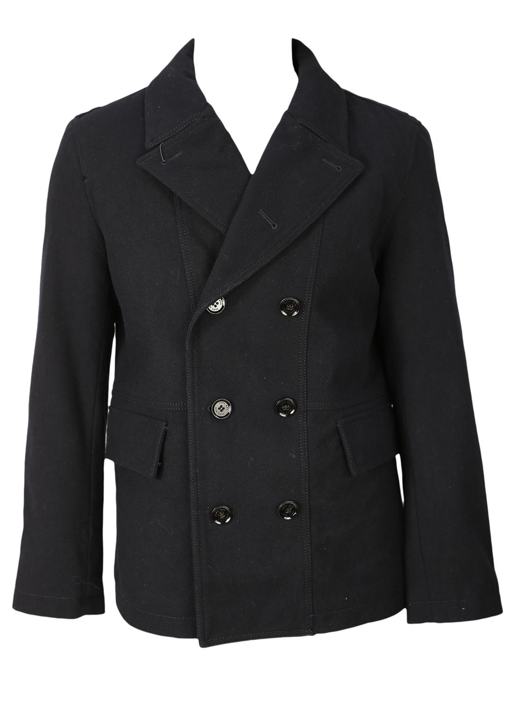 Palton Zara Simple Dark Blue