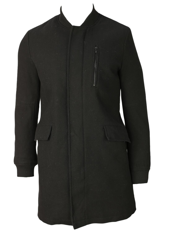 Palton Zara Cute Black
