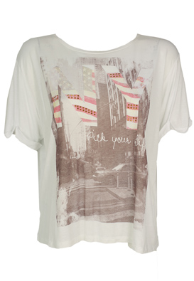 TRICOU PIMKIE FANCY WHITE
