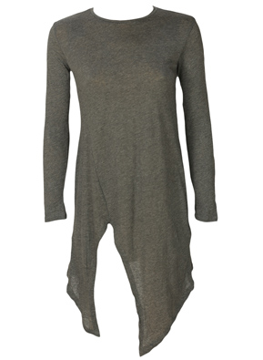 BLUZA ZARA NICE LIGHT GREY