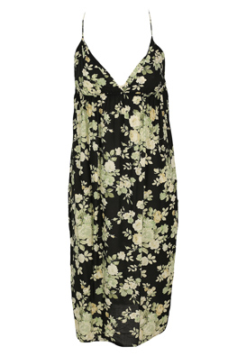 ROCHIE GLAMOROUS FLORAL BLACK
