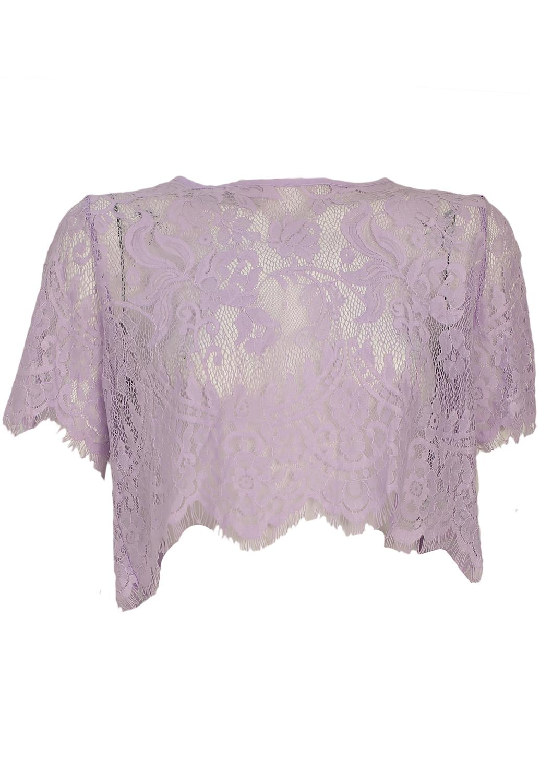 Tricou Glamorous Shine Light Purple