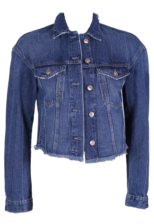 Geaca Blugi Zara Meral Blue