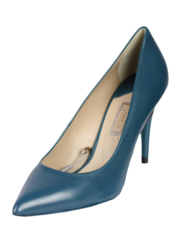 Pantofi piele Uterque Karina Light Blue