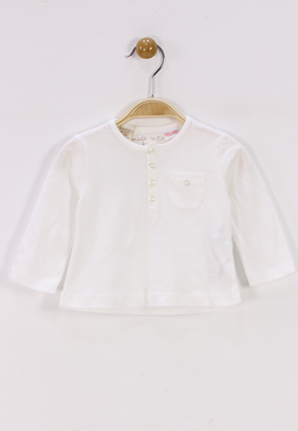 BLUZA ZARA CUTE WHITE