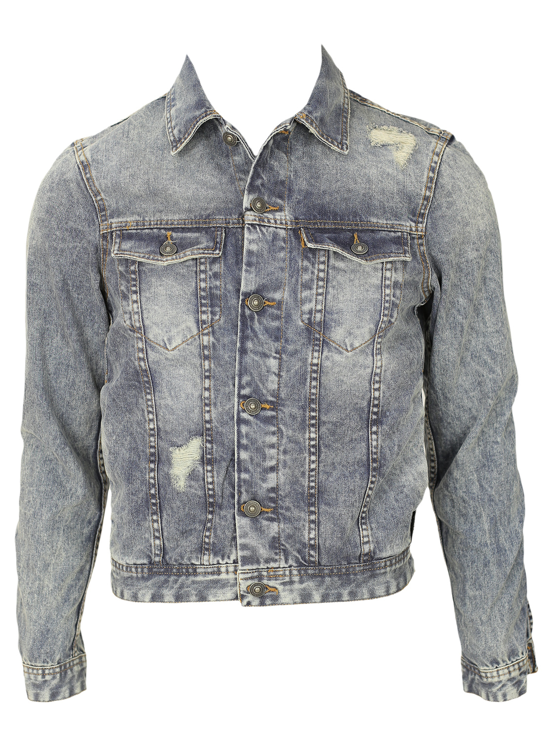 Geaca Blugi Zara Great Blue