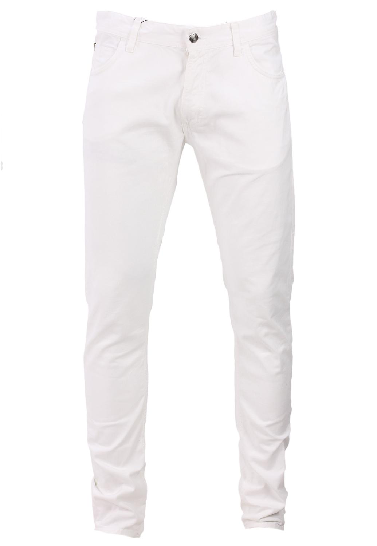 Pantaloni Zara Cole White