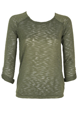 BLUZA RESERVED JODI DARK GREEN