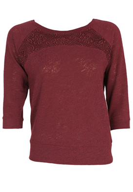 BLUZA RESERVED JANE DARK RED