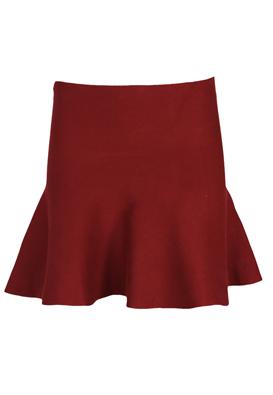 FUSTA ZARA CLASSY RED