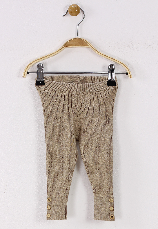 Pantaloni ZARA Girly Beige
