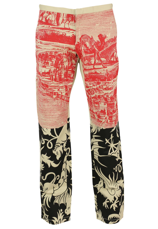 Pantaloni Custo Classy Beige