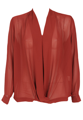BLUZA ALICE AND YOU LEXIS DARK RED