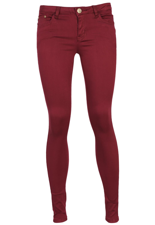 Pantaloni Glamorous Fancy Dark Red