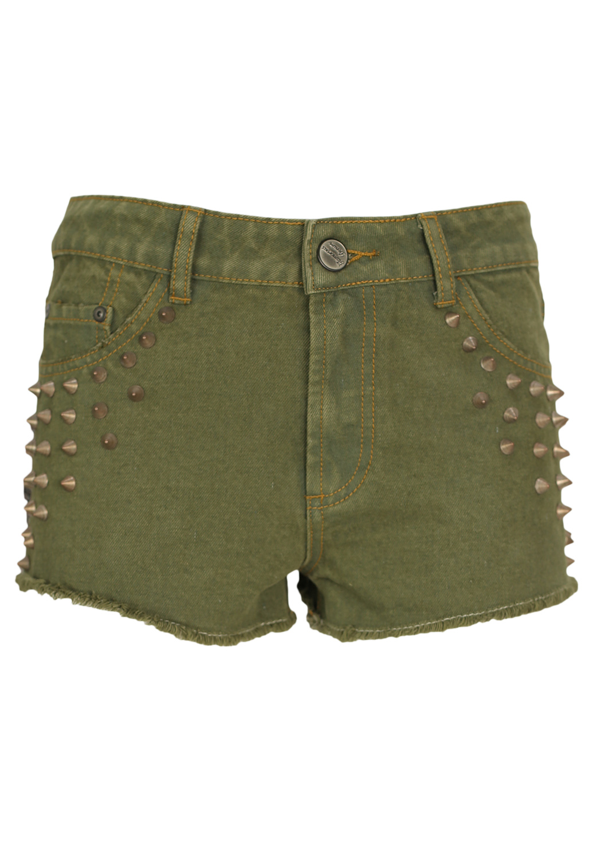 Pantaloni scurti Glamorous Fiona Dark Green