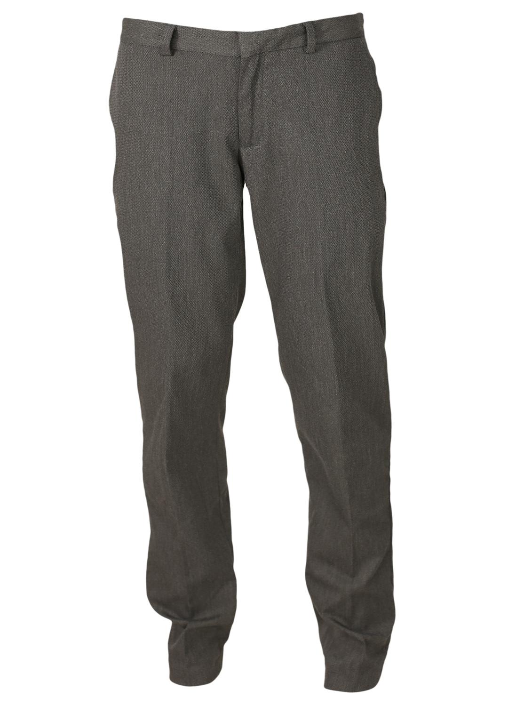 Pantaloni De Stofa Zara Army Dark Grey