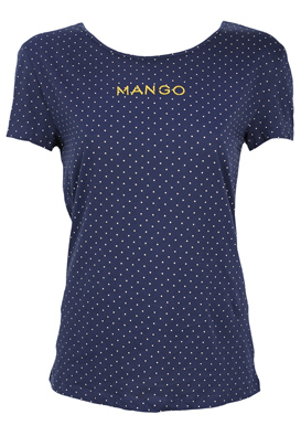 TRICOU MANGO SHINE BLUE