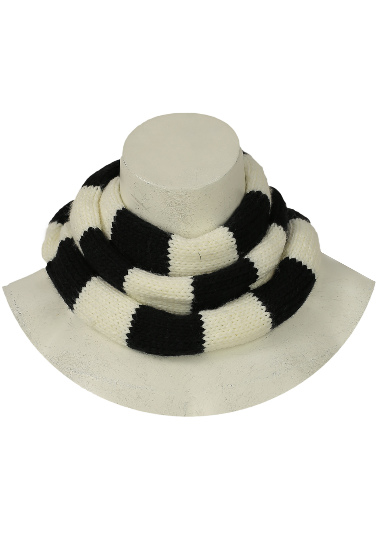 Fular Pimkie Cool Black and White