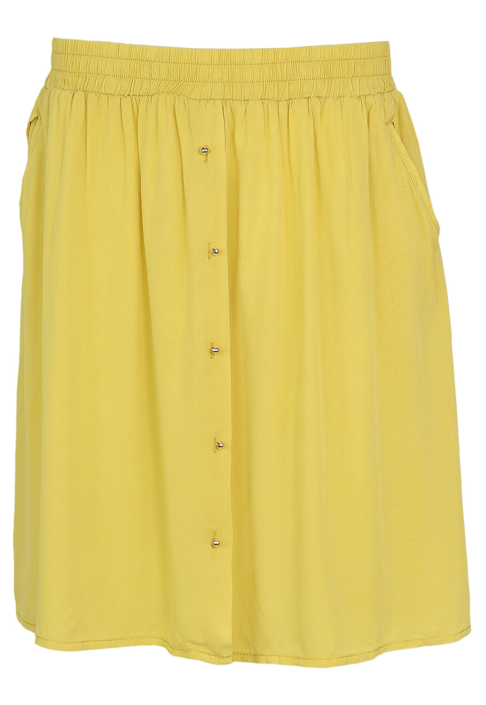 Fusta Promod Dollie Yellow