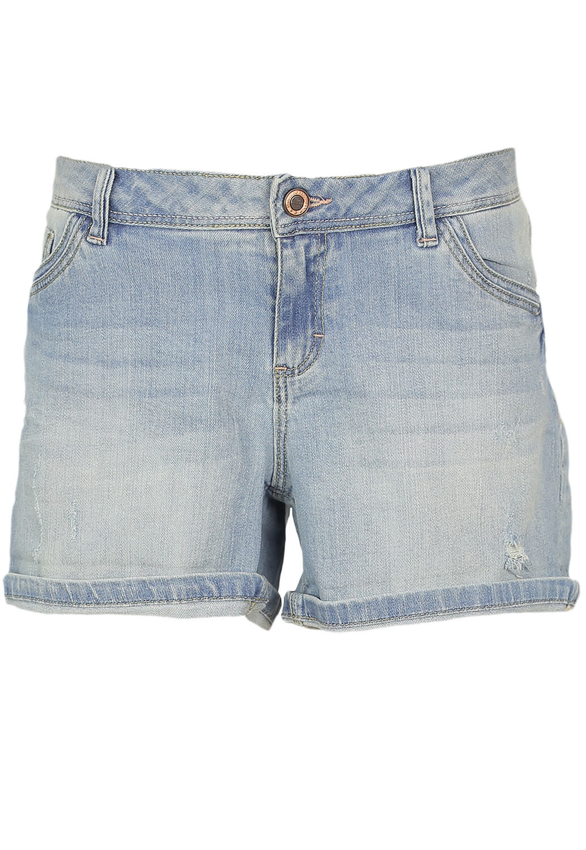 Pantaloni scurti Promod Fran Light Blue